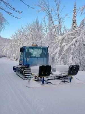 Gatineau Ski Trail groomer