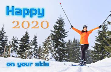 Happy 2020 x-ski